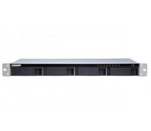 Qnap Ts-431xeu-8g 4-bay Quad-core 1.7 Ghz Short-depth Rackmount Nas With 100w Power Supply 8gb