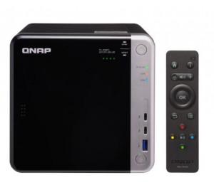QNAP TS-453BT3-8G 4-Bay 10GbE & Thunderbolt 3 NAS with dual M.2 2280 SATA SSD slots Intel
