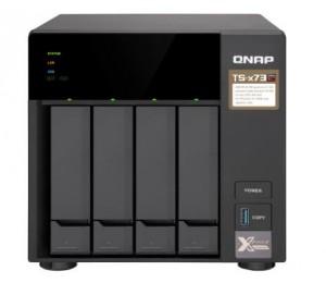 Qnap Ts-473-4G 4 Bay Nas (No Disk) Rx-421Nd M.2 Ssd Slot(2) 4Gb Gbe(4) Twr 2Yr Ts-473-4G