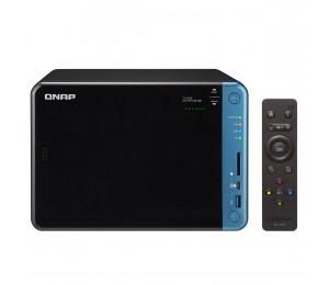 QNAP TS-653B-8G NAS 6BAY (NO DISK) 8GB CEL QC-1.5GHz USB 3.0(5) GbE(2) TWR 2YR TS-653B-8G