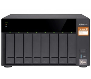QNAP TS-832X-8G 8 BAY NAS (NO DISK) 8GB AL-324 GbE(2) USB(3) 10GbE SFP+(2) 2YR TS-832X-8G