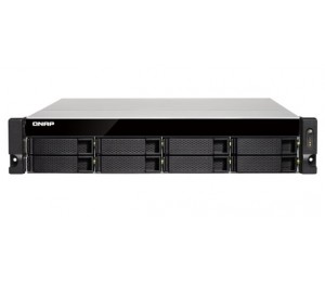 QNAP TS-831XU-RP-4G 8BAY NAS (NO DISK) 4GB AL-324 QC USB GbE(2) 10GbE SFP+(2) 2U 2YR TS-832XU-RP-4G