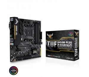 Asus Tuf-b450m-plus-gaming Am4 M-atx Motherboard - Amd B450 Chipset - 4x Dimm Ddr4 Up To 64gb