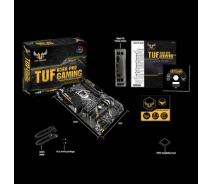 Asus Intel B360 Atx Gaming Motherboard With Aura Sync Rgb Led Lighting Ddr4 2666Mhz Support 32Gbps