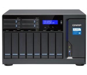 Qnap Tvs-1282T3-I7-32G Nas 8+4+2Xm.2 Slot(No Disk) I7-7700 32Gb Thunderbolt3 Gbe(4) Twr 2Y Tvs-1282T3-I7-32G