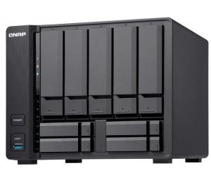 Qnap Tvs-951x-2g 5+4 Bay Nas (no Disk) Cel-3865u 2gb Usb(3) Gbe(1) 10gbase-t(1) 2yr Tvs-951x-2g