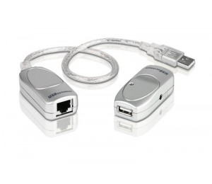 ATEN (UCE60-AT) USB 2.0 Cat 5 Extender up to 60m support 12Mbps or 1.5Mbps UCE60-AT