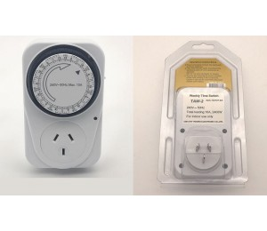Generic Multi Purpose 7-day Weekly Timer Switch Uet7