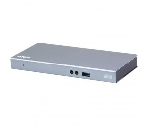 Aten (UH3230-AT-U) USB-C Single-view Multiport Dock HDMI DP Power Delivery(Charging) 3x USB3.1