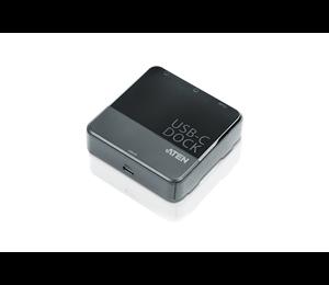 Aten Usb-c Dual-view Mini Dock. Dual Hdmi Single View:3840*2160@30 Dual View: 1920*1080@60 X 2