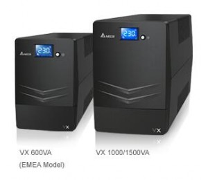 Delta Vx Line Interactive 1000va/ 600w Mini Tower Ups 4x Au Outlet 10a Input Cord Free Ups Management