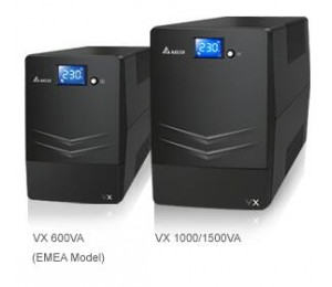 Delta Ups: Vx Line Interactive 1500va/ 900w Mini Tower Ups 4x C13 To Au 10a Output Leads Free Ups