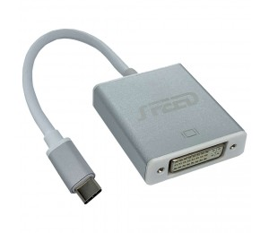 Speed Usb Type-C (Male) - Dvi (Female) Adapter - 20Cm Cable Life Wty Cab-Speed-Usbcdvi