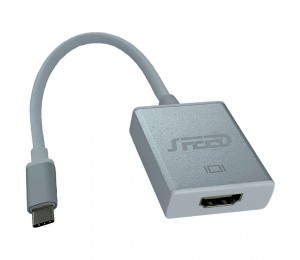 Speed Usb Type-C (Male) - Hdmi (Female) Adapter - 20Cm Cable Life Wty Cab-Speed-Usbchdmi
