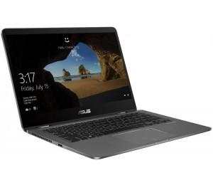 "Asus Zenbook Flip Grey 14"" Fhd Touch I7-8565U 1.8Ghz 16Gb 512Gb M.2 Ssd Nvidia Mx150 2Gb Ac+Bt4.2"