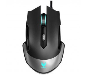 Rapoo V310 RGB Laser Gaming Black - Upto 8200dpi, Metal Finish