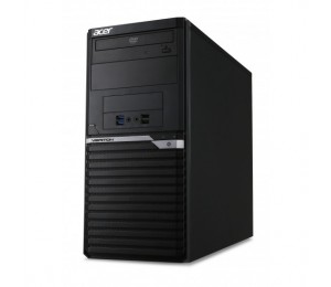 Acer Veriton Minitower M6650g I5-7400 8gb 256gb Ssd+2tb Dvd S/ M Windows 10 Pro Kb & Mouse 3 Year