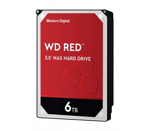 Western Digital 6Tb Red 256Mb 3.5In Sata 6Gb/S Intellipowerrpm Wd60Efax