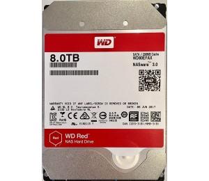 Western Digital 8tb Red 256mb 3.5in Sata 6gb/s Intellipowerrpm Wd80efax