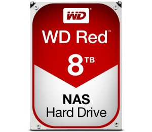 Western Digital Red Nas Hard Drive 8tb Sata Iii 6 Gb/s 5400-rpm .5in 256mb Cache 3 Years Wd80efax