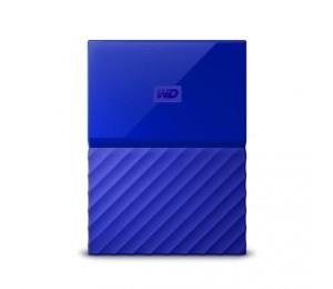 Western Digital 2tb My Passport Portable Hard Drive (blue) Wdbs4b0020bbl-wesn