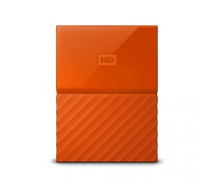 Western Digital 2tb My Passport Portable Hard Drive (orange) Wdbs4b0020bor-wesn