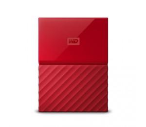 Western Digital 2tb My Passport Portable Hard Drive (red) Wdbs4b0020brd-wesn