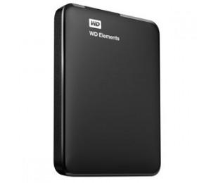 """Western Digital PORTABLE 2.5"""" DRIVE: 2TB Elements SE USB3.0/ Support Windows and Mac Black WDBU6Y0020BBK-PESN"""