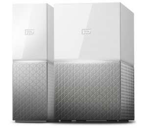 Western Digital My Cloud Home 8TB Personal Cloud Storage (NAS) Media Server File Sync PC/ Mac Backup