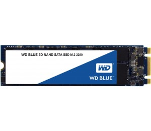 Western Digital Blue 3D NAND SSD M.2 Form Factor SATA Interface 2TB CSSD Platform 3Yr Warranty