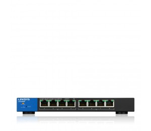 Bundle Linksys 8 Port Smart Switch Lgs308Mp-Au With 8 X 1 M Cat6 S Nagless Cables Lgs308Mp-Cable