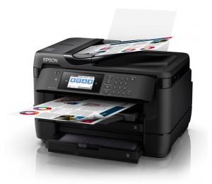 Epson Mfp Fax 32ppm(b) 20ppm© 4800 X 2400 Dpi 4x Individual Durabrite Ultra C11cg37504