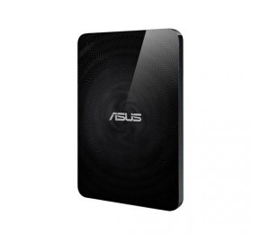 ASUS TRAVELAIR N WHD-A2 WIRELESS HARD DRIVE AND SD CARD READER WITH ONE-TOUCH NFC USB 3.0 SD