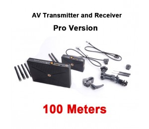 Winstars PHPC 5G WHDI Wireless Pro 100 AV Transmitter and Receiver 100 meters, Pro AV version AV510W3 WS-AV510W3