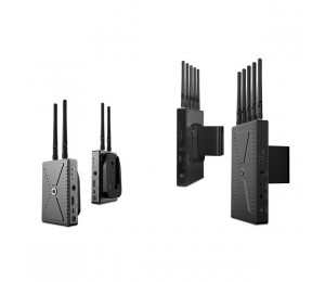 Winstars PHPC 5G WHDI Wireless Pro Plus 300 AV Transmitter and Receiver 300 meters, Pro AV version AV510W4