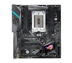ASUS AMD ROG Strix X399-E ATX gaming motherboard with Aura Sync SupremeFX dual M.2 Intel LAN onboard