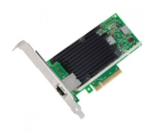 Intel ETHERNET CONVERGED NETWORK ADAPTER SINGLE PORT 10GBE PCIE RJ45 CAT6 LOW PROFILE & FULL HEIGHT
