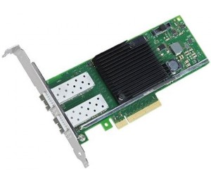 Intel Dual Port 10Gbe Ethernet Adapter X710Da2 Sfp+ Lp/ Full Bracket Bulk X710Da2Blk
