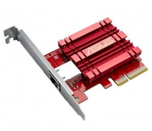 Asus XG-C100C 10GB Base-T PCIe Network Adapter with backward compatibility of 5/ 2.5/ 1G and 100Mbps