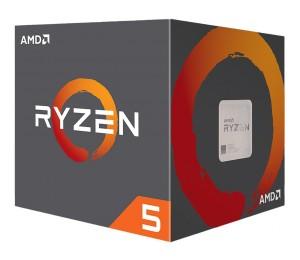 Amd Ryzen 5 2600x 6 Cores Am4 Cpu 4.25ghz 19mb 95w W/ Wraith Spire Cooler Fan Box Yd260xbcafbox