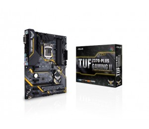 Asus Tuf-z370-plus-gaming-ii Lga1151 Atx Motherboard - Intel Z370 Chipset - 4x Dimm Ddr4 Up To