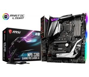 Msi Intel Z390 Socket 1151 Atx Gaming Motherboard Mystic Light M.2 Shield Frozr Audio Boost 4