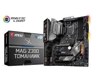 Msi Intel Z390 Socket 1151 Atx Gaming Motherboard Mystic Light M.2 Shield Frozr Audio Boost 4x
