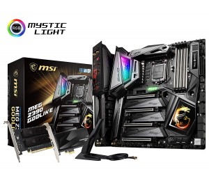 Msi Intel Z390 Socket 1151 Eatx Gaming Motherboard Mystic Light Infinity Dynamic Dashboard Game