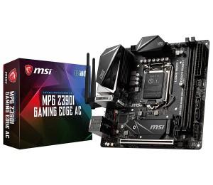 Msi Intel Z390 Socket 1151 Itx Gaming Motherboard Twin Turbo M.2 Ddr4 Boost 2Xddr4 1Xpcie M.2