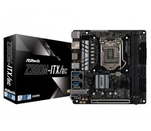 Asrock Z390m-itx/ac Lga 1151 (300 Series) Intel Z390 Hdmi Sata 6gb/s Usb 3.1 Mini Itx Intel Motherboard