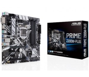 Asus Prime-z390m-plus Lga 1151 Matx Motherboard - Intel Z390 Chipset - 4x Dimm Ddr4 Up To 64gb