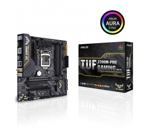 Asus Tuf-z390m-pro-gaming-wifi Lga 1151 Matx Motherboard - Intel Z390 Chipset - 4x Dimm Ddr4 Up