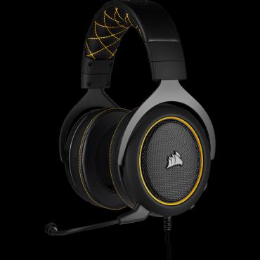 Corsair Hs60 Pro Surround Gaming Headset Yellow Ca-9011214-Ap
