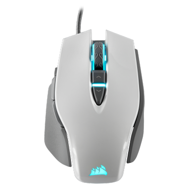 Corsair M65 Rgb Elite Tunable Fps Gaming Mouse White Backlit Rgb Led 18000 Dpi Optical Ch-9309111-Ap